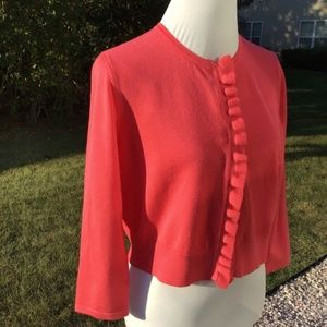 Cable & Gauge Coral Cardigan